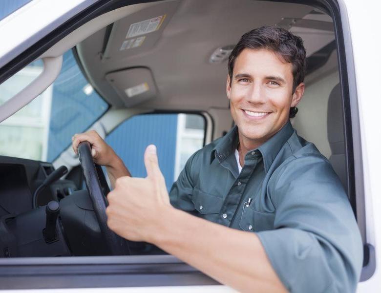 Водитель категории В на автомобиль компании